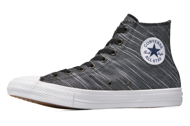 Sneaker Converse Chuck Taylor All Star II Hi M schwarz ansicht von vorne
