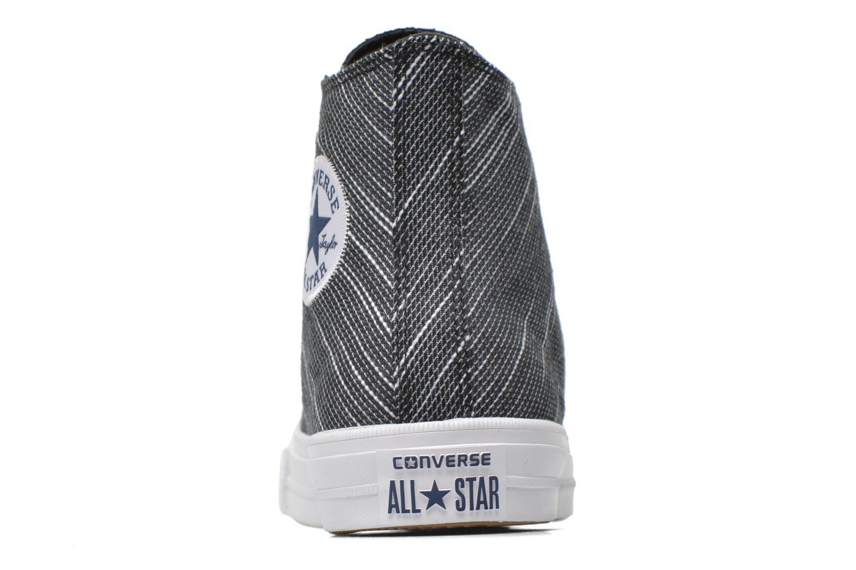 Sneaker Converse Chuck Taylor All Star II Hi M schwarz ansicht von rechts