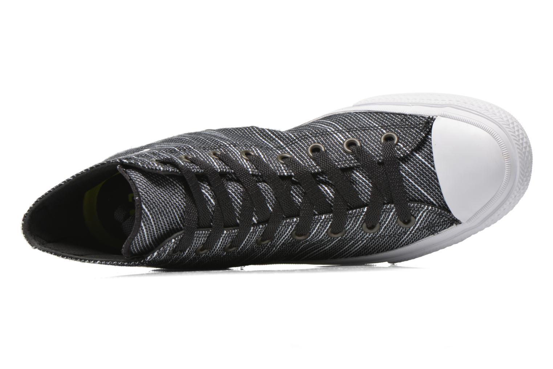 Sneaker Converse Chuck Taylor All Star II Hi M schwarz ansicht von links