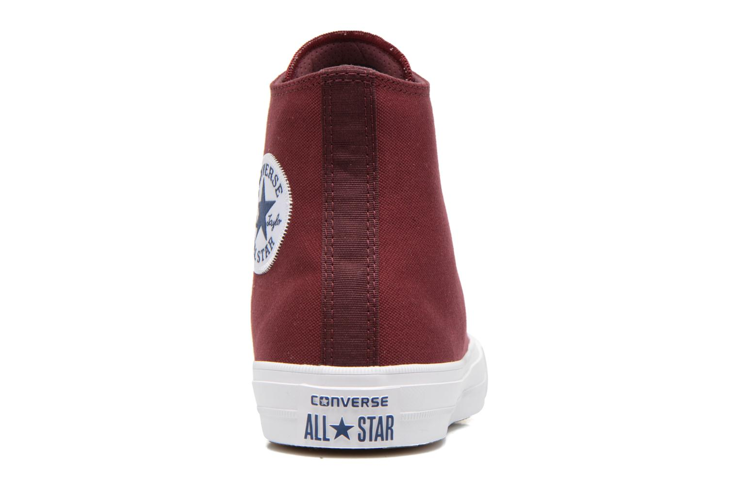 Trainers Converse Chuck Taylor All Star II Hi M Burgundy view from the right