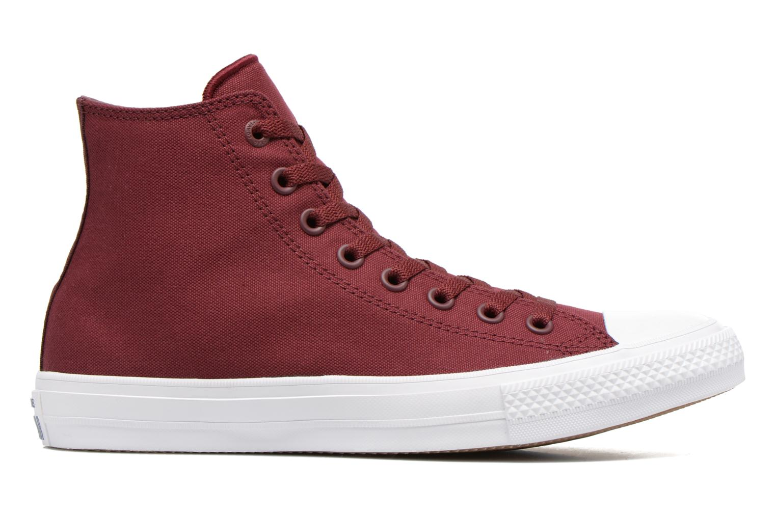 Trainers Converse Chuck Taylor All Star II Hi M Burgundy back view