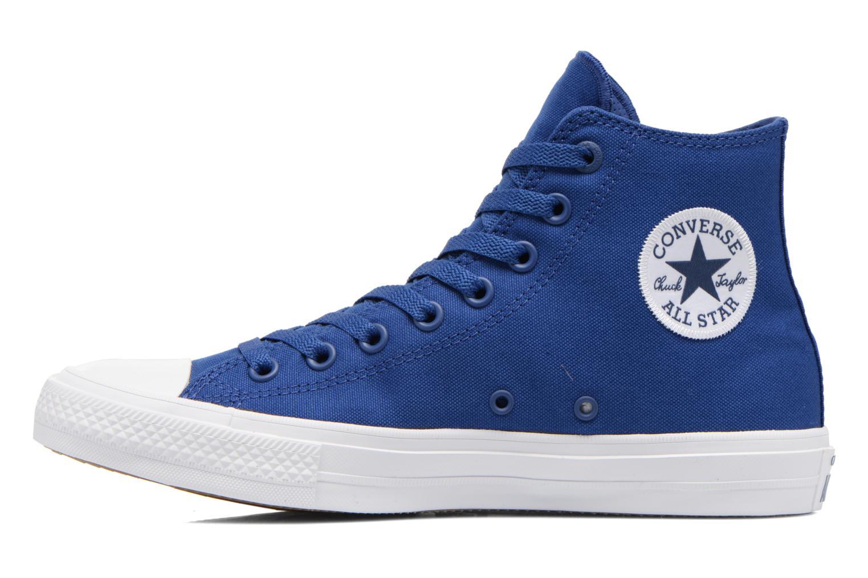 Sneakers Converse Chuck Taylor All Star II Hi M Blauw voorkant