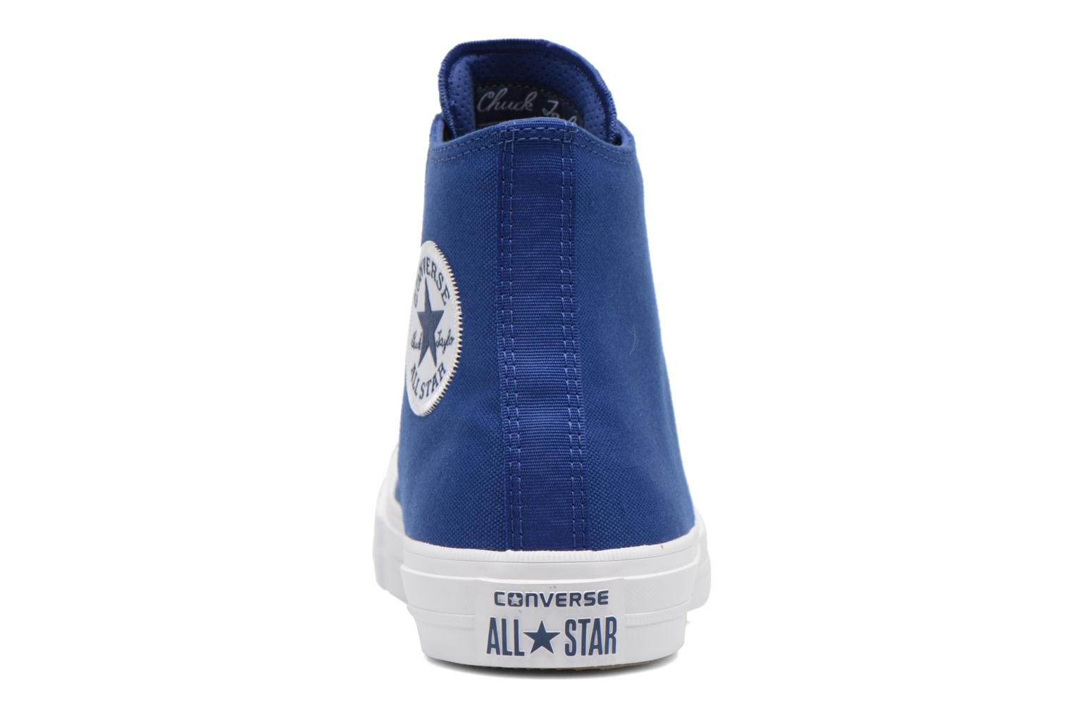 Trainers Converse Chuck Taylor All Star II Hi M Blue view from the right