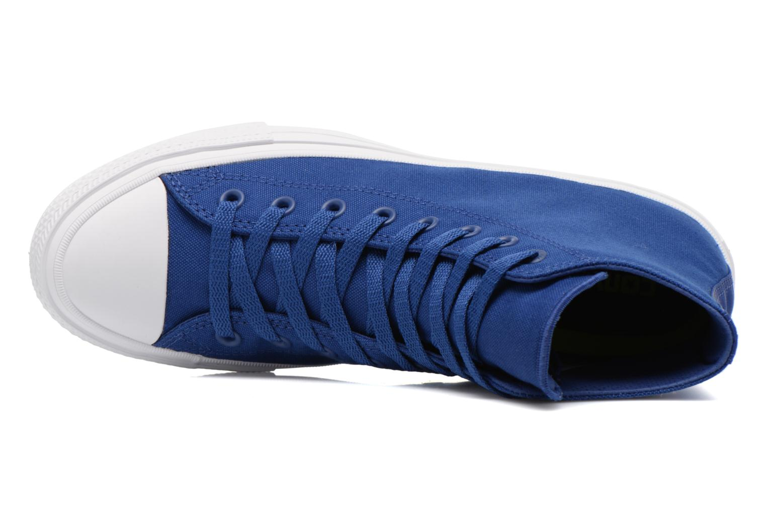 Trainers Converse Chuck Taylor All Star II Hi M Blue view from the left