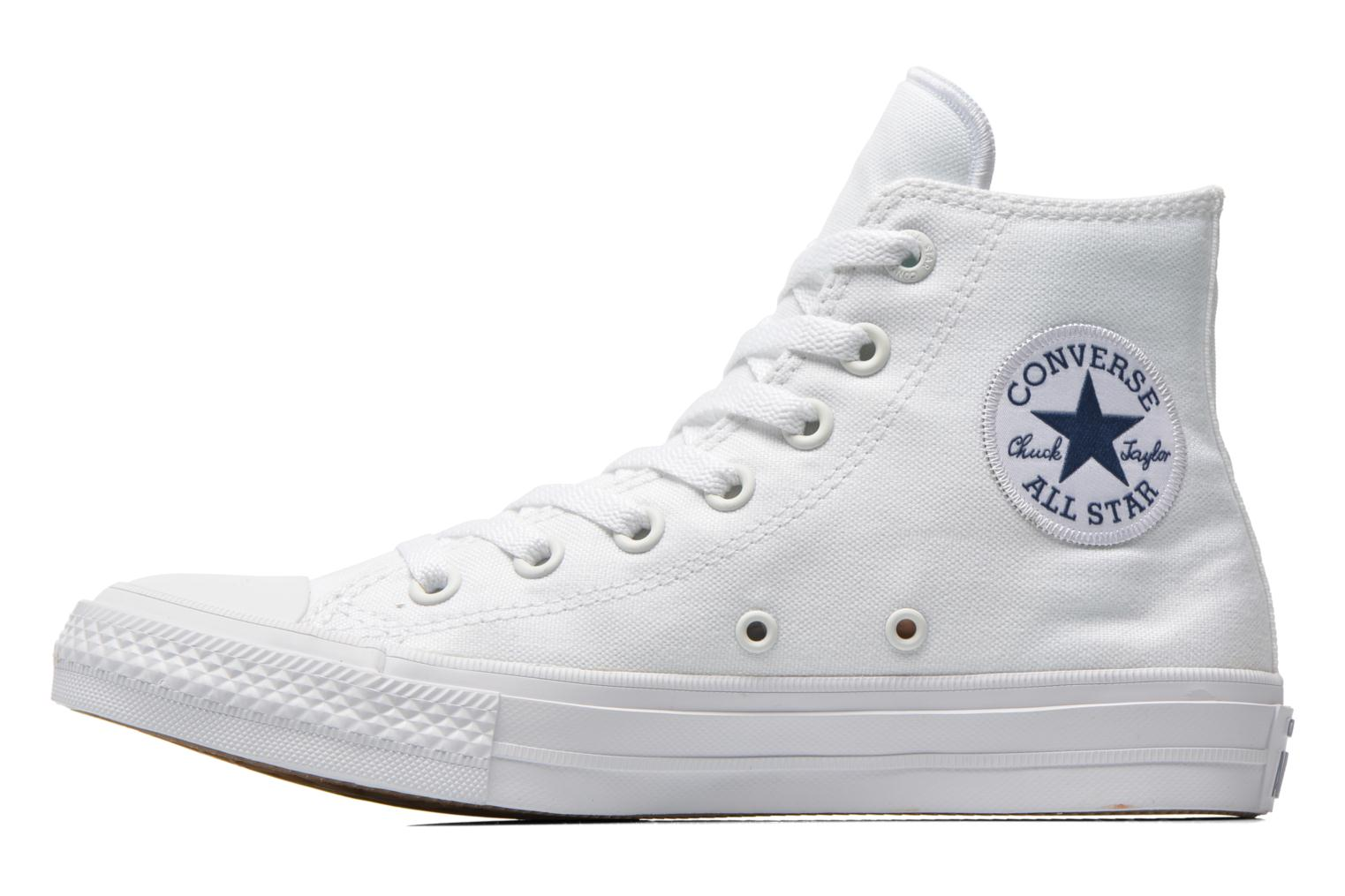 Chuck Taylor All Star II Hi M White-White-Navy