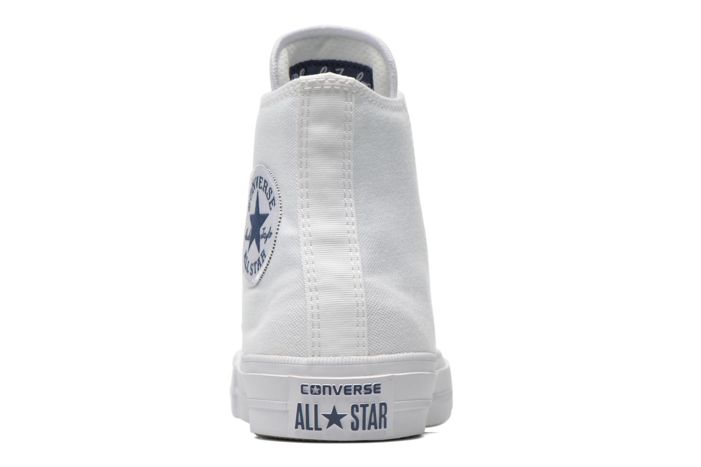 Sneaker Converse Chuck Taylor All Star II Hi M weiß ansicht von rechts