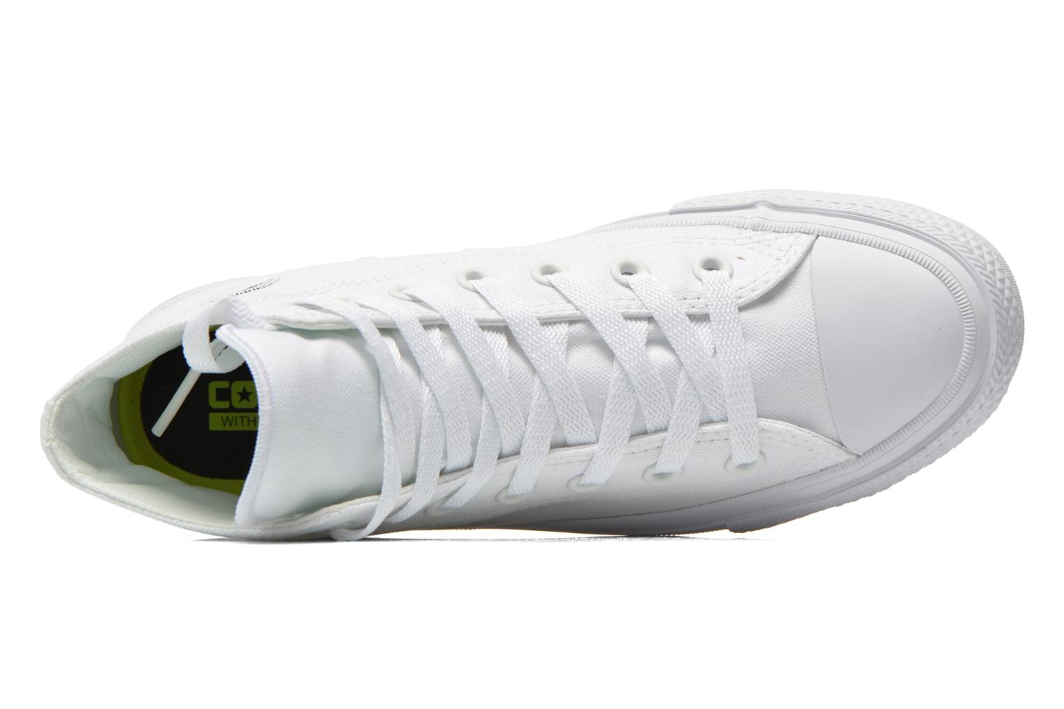 Trainers Converse Chuck Taylor All Star II Hi M White view from the left