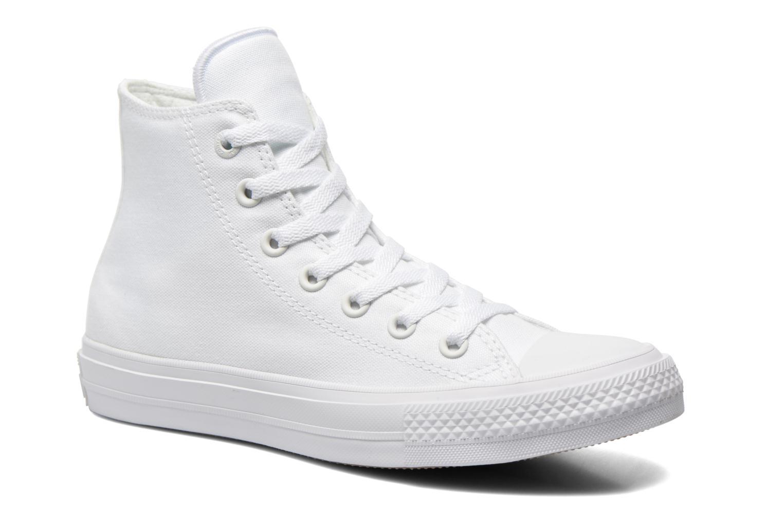 Baskets Converse Chuck Taylor All Star II Hi M Blanc vue détail/paire