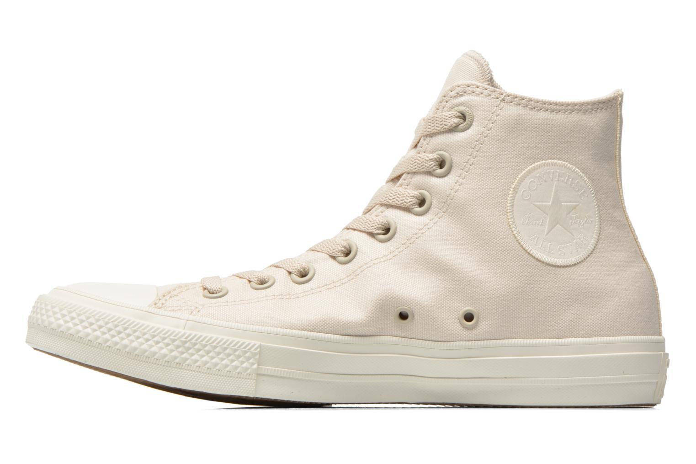 Sneakers Converse Chuck Taylor All Star II Hi M Beige voorkant