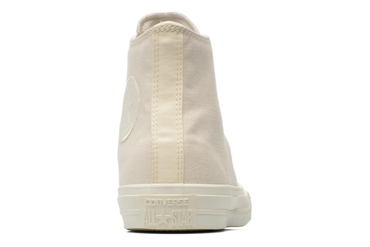 Trainers Converse Chuck Taylor All Star II Hi M Beige view from the right