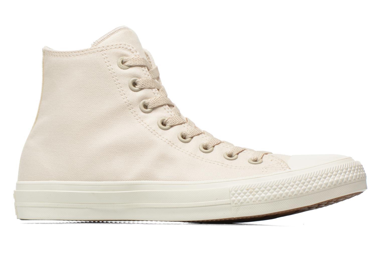 Sneakers Converse Chuck Taylor All Star II Hi M Beige achterkant
