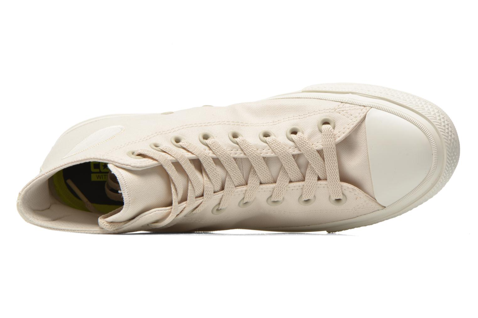 Trainers Converse Chuck Taylor All Star II Hi M Beige view from the left