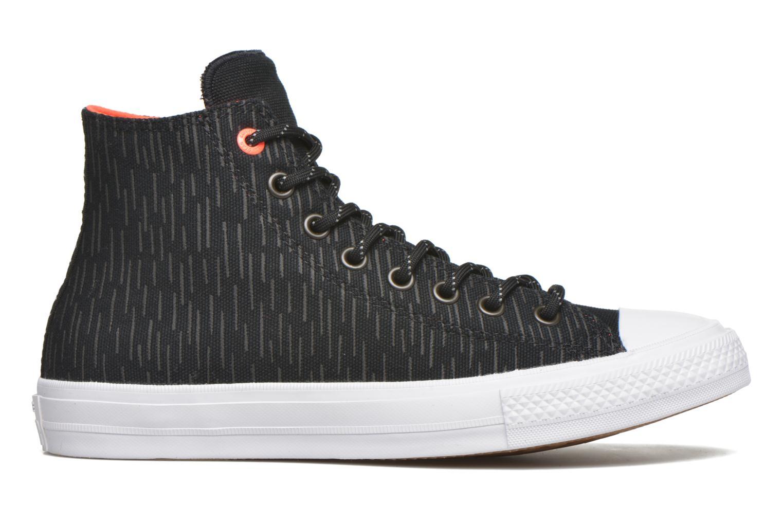 Sneaker Converse Chuck Taylor All Star II Hi M schwarz ansicht von hinten