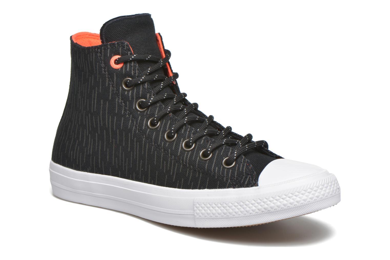 Sneakers Converse Chuck Taylor All Star II Hi M Sort detaljeret billede af skoene