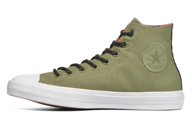 Sneakers Converse Chuck Taylor All Star II Hi M Groen voorkant
