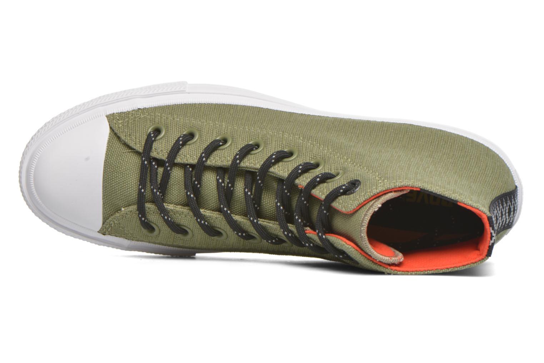 Sneakers Converse Chuck Taylor All Star II Hi M Grön bild från vänster sidan