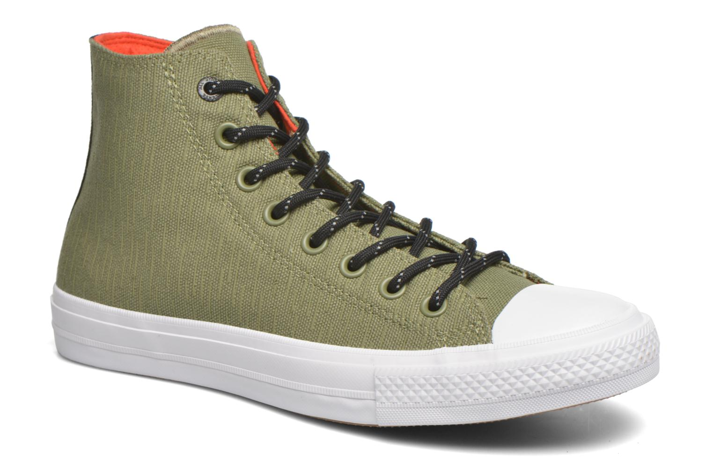 Sneakers Converse Chuck Taylor All Star II Hi M Grön detaljerad bild på paret