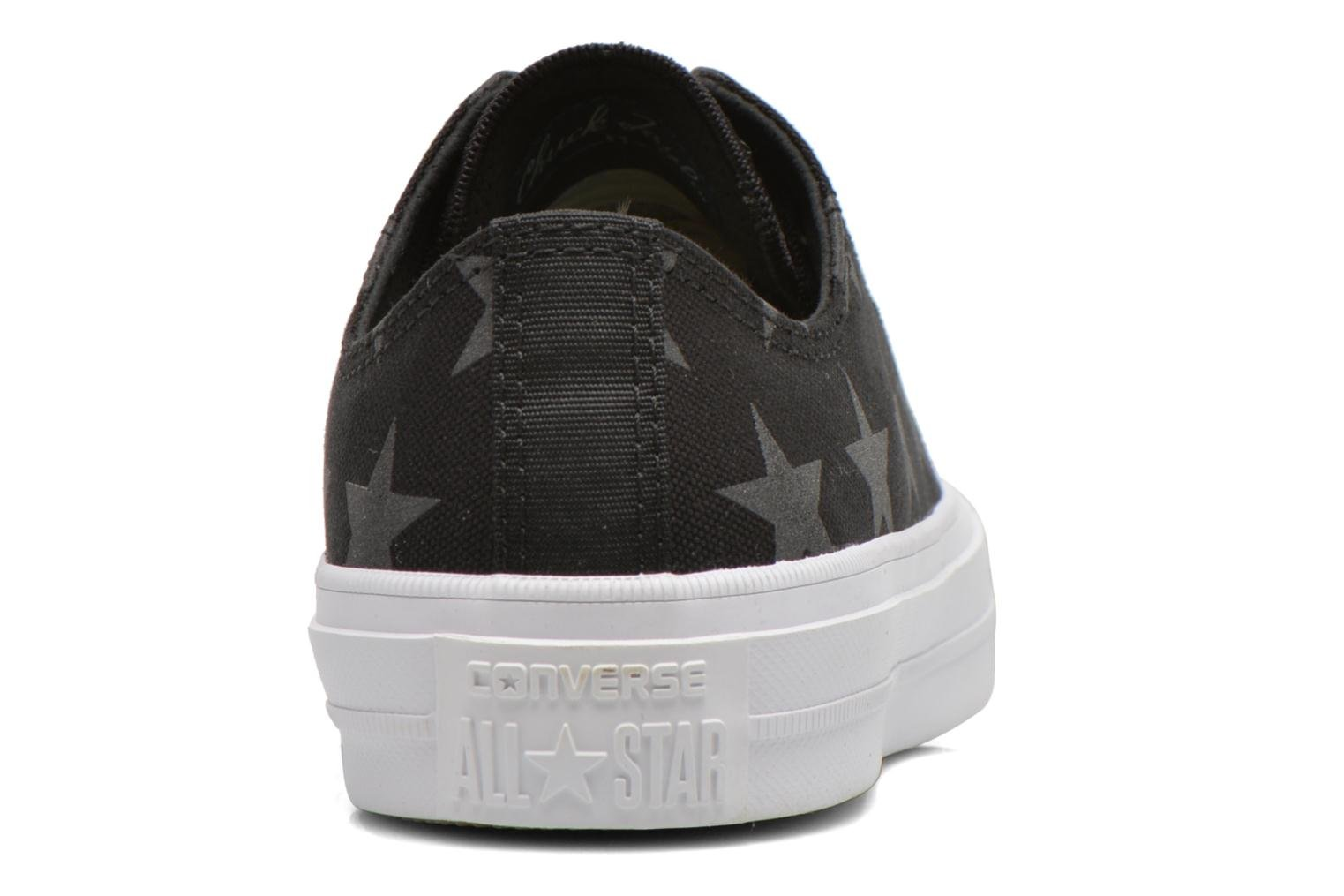 Trainers Converse Chuck Taylor All Star II Ox W Black view from the right