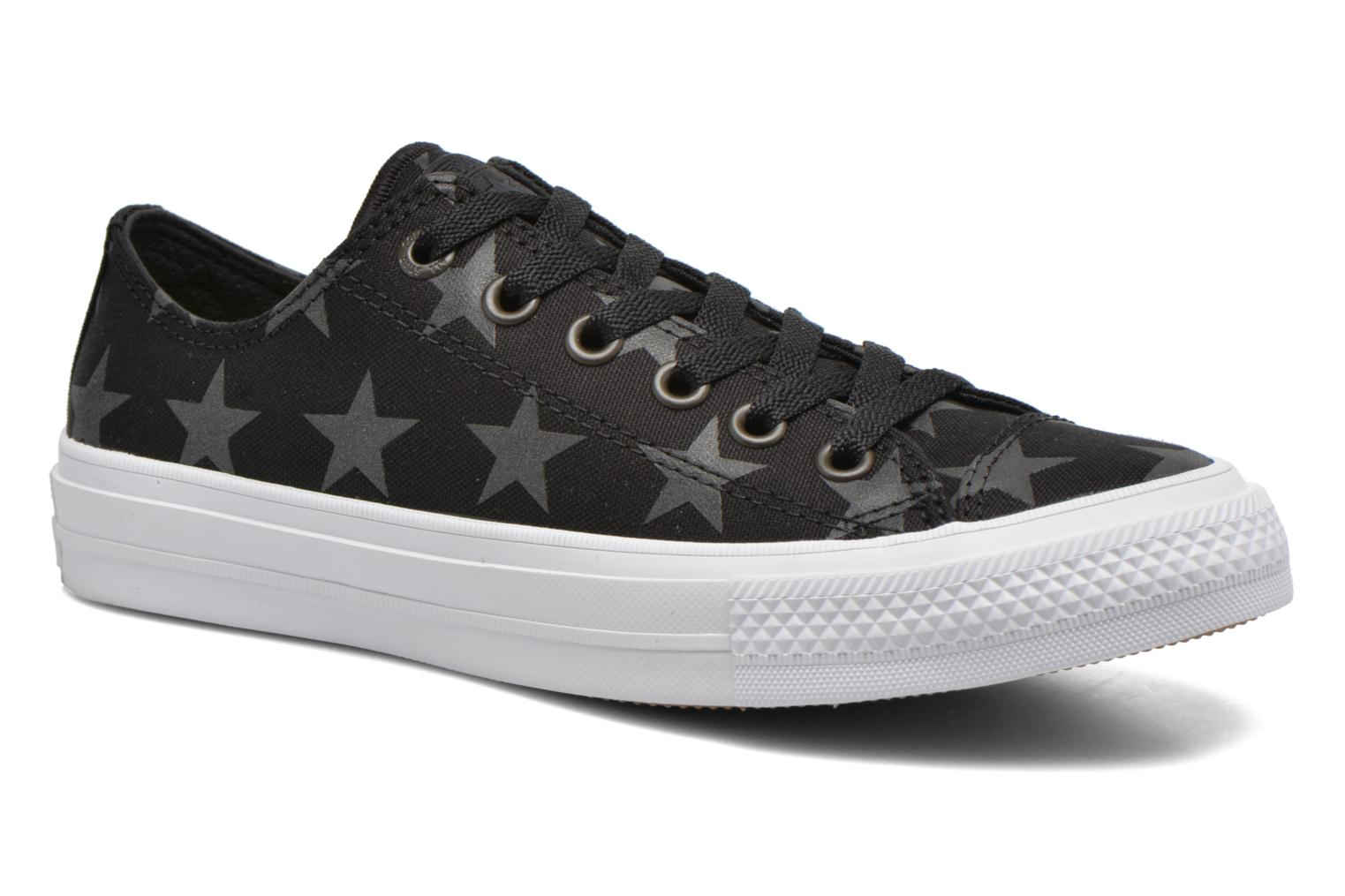 Trainers Converse Chuck Taylor All Star II Ox W Black detailed view/ Pair view