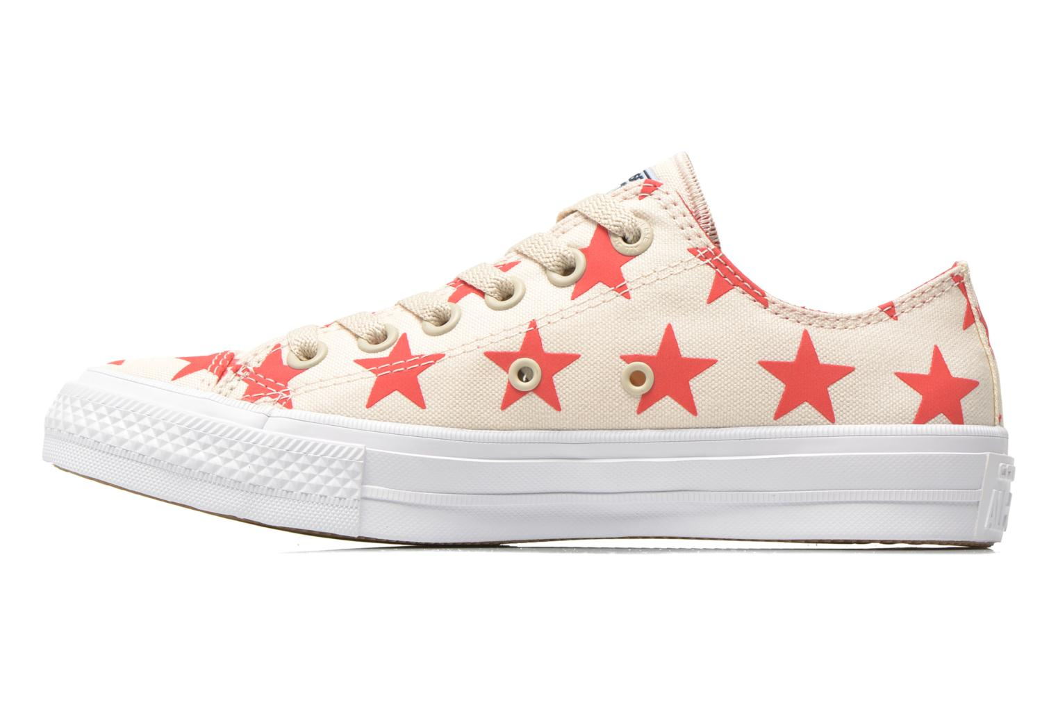 Chuck Taylor All Star II Ox W Parchment-Navy-White