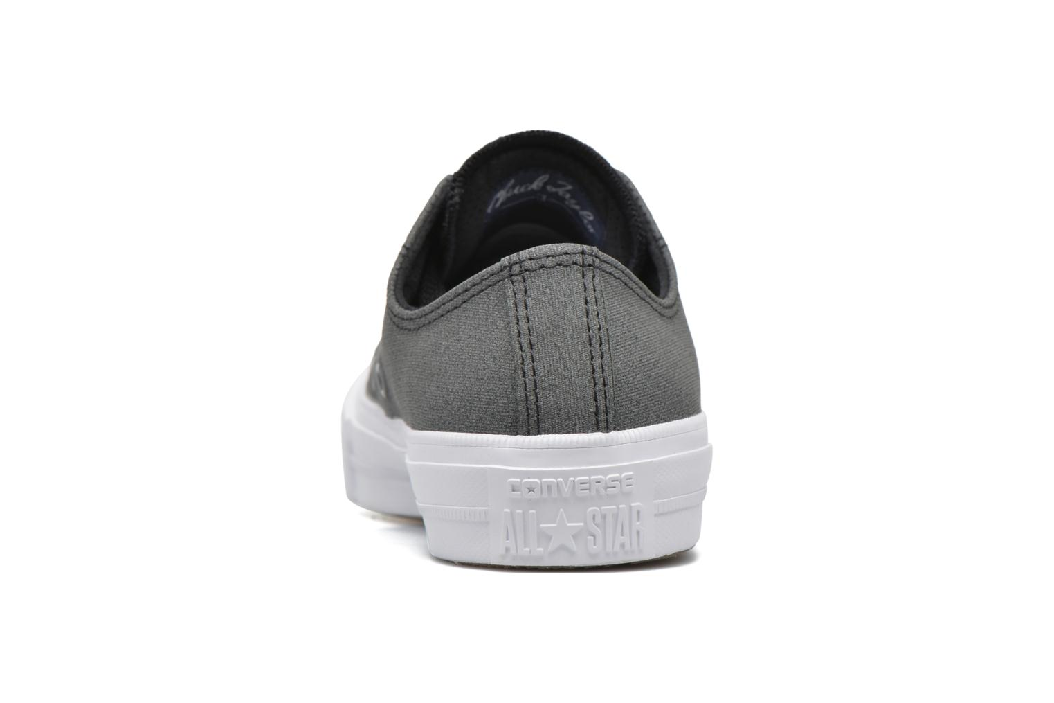 Trainers Converse Chuck Taylor All Star II Ox W Grey view from the right