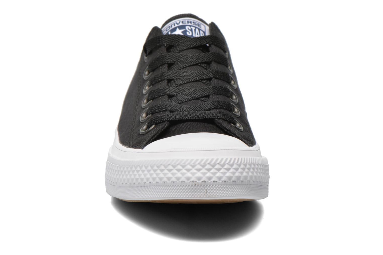 Baskets Converse Chuck Taylor All Star II Ox M Noir vue portées chaussures