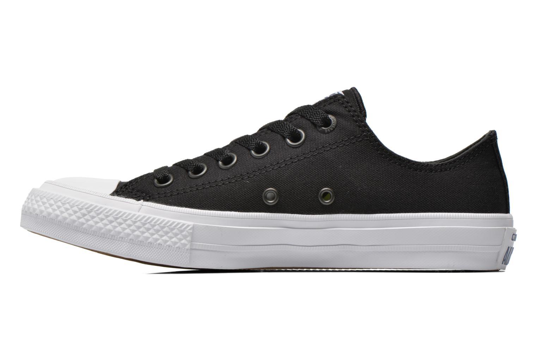 Sneaker Converse Chuck Taylor All Star II Ox M schwarz ansicht von vorne