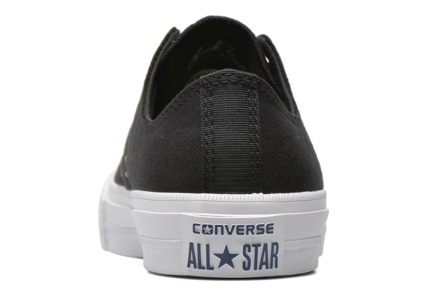 Trainers Converse Chuck Taylor All Star II Ox M Black view from the right