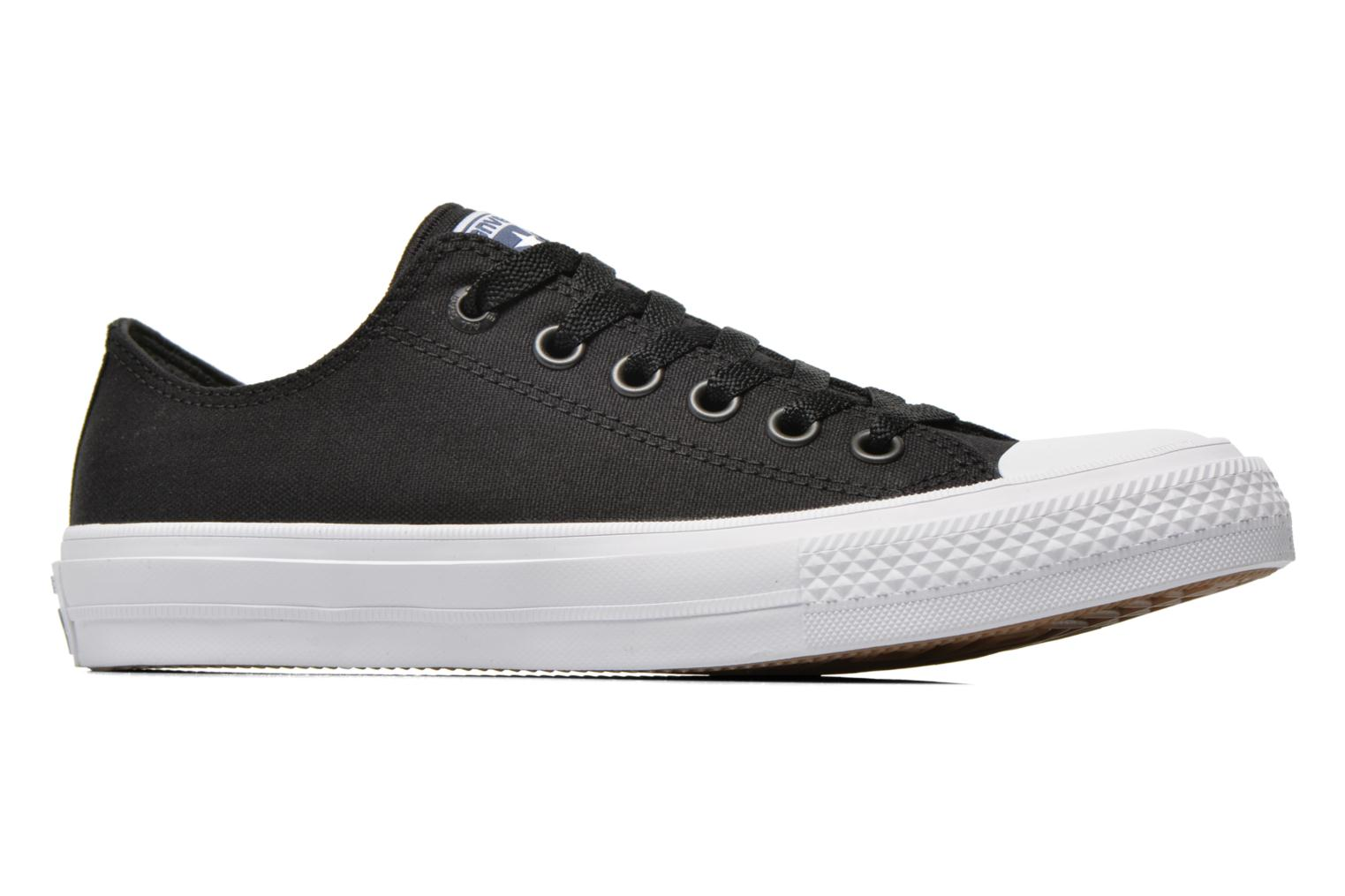 Trainers Converse Chuck Taylor All Star II Ox M Black back view