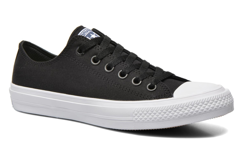 Sneakers Converse Chuck Taylor All Star II Ox M Zwart detail