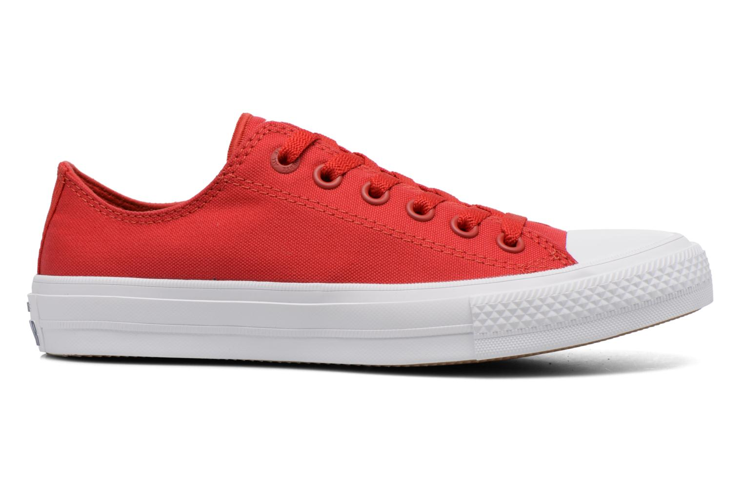 Sneakers Converse Chuck Taylor All Star II Ox M Rood achterkant