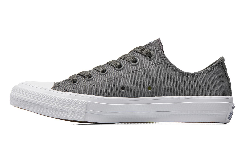 Sneaker Converse Chuck Taylor All Star II Ox M grau ansicht von vorne