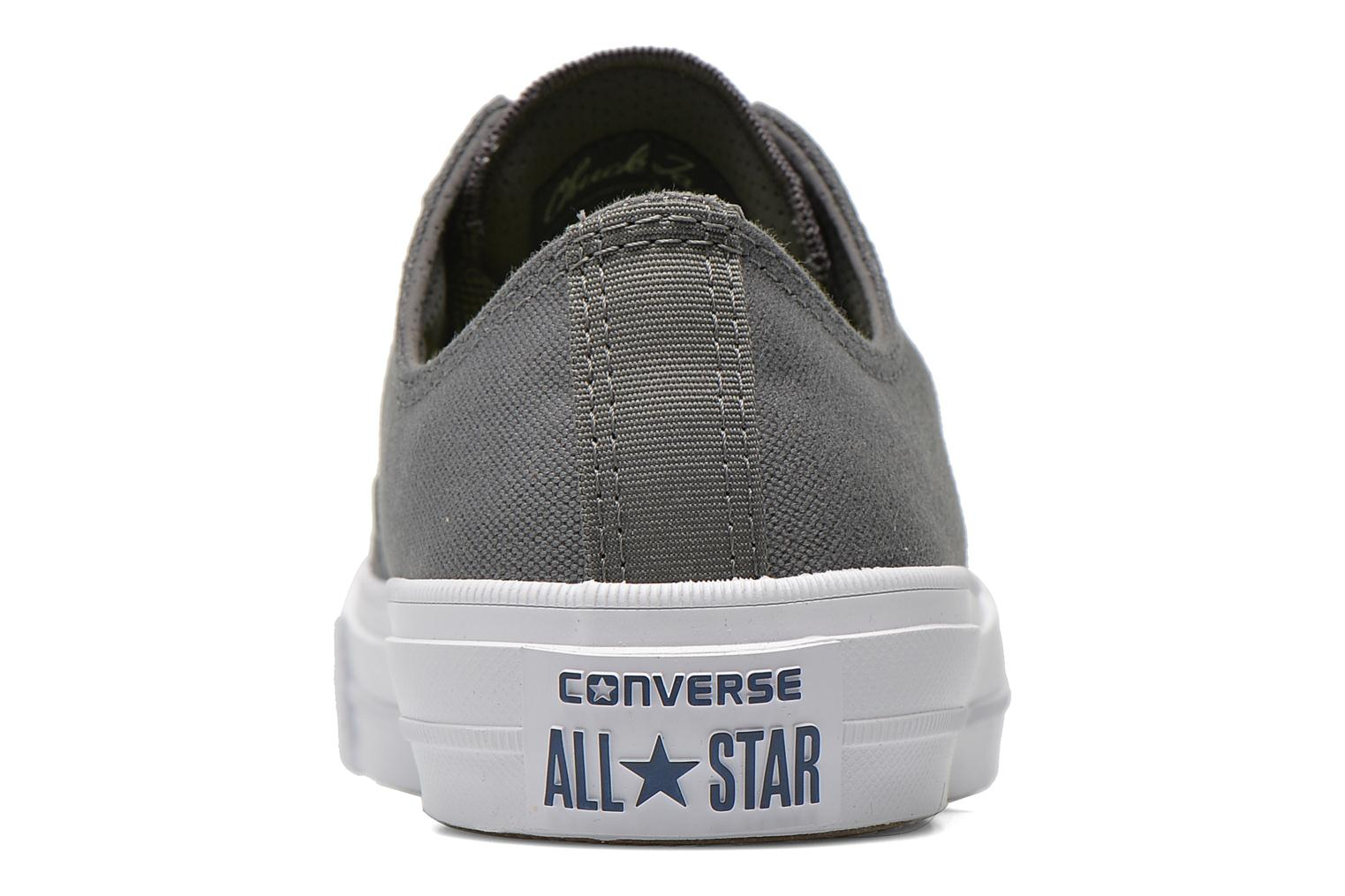 Baskets Converse Chuck Taylor All Star II Ox M Gris vue droite