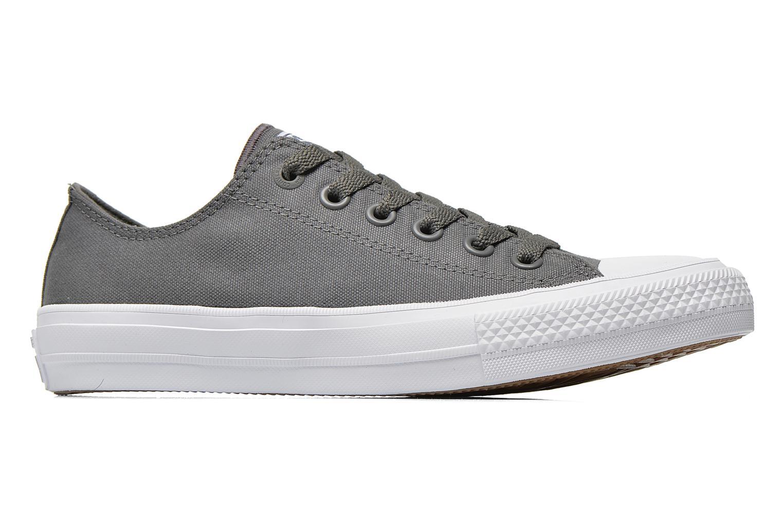 Sneaker Converse Chuck Taylor All Star II Ox M grau ansicht von hinten