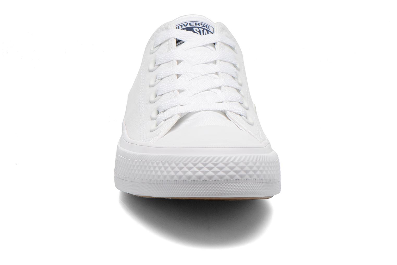 Sneaker Converse Chuck Taylor All Star II Ox M weiß schuhe getragen