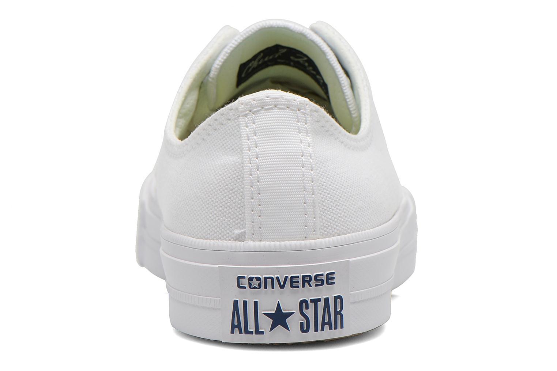 Sneaker Converse Chuck Taylor All Star II Ox M weiß ansicht von rechts