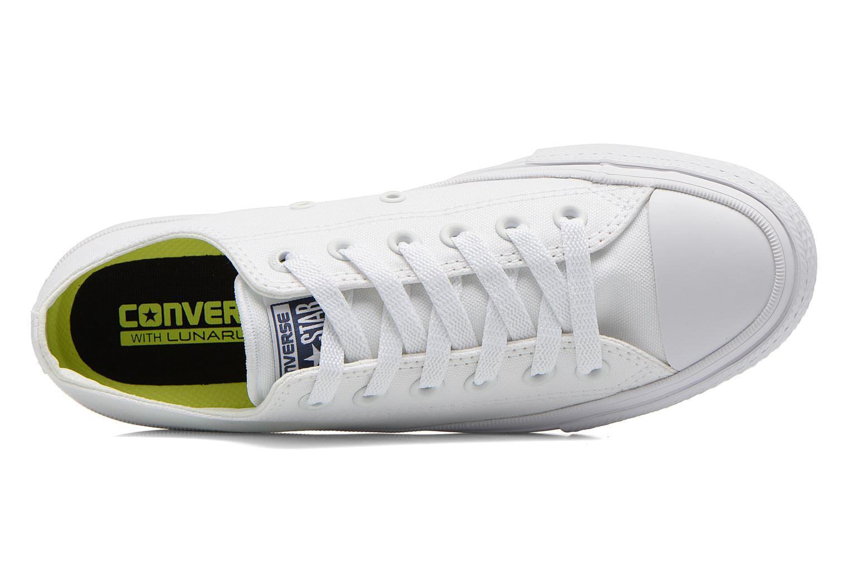 Sneaker Converse Chuck Taylor All Star II Ox M weiß ansicht von links