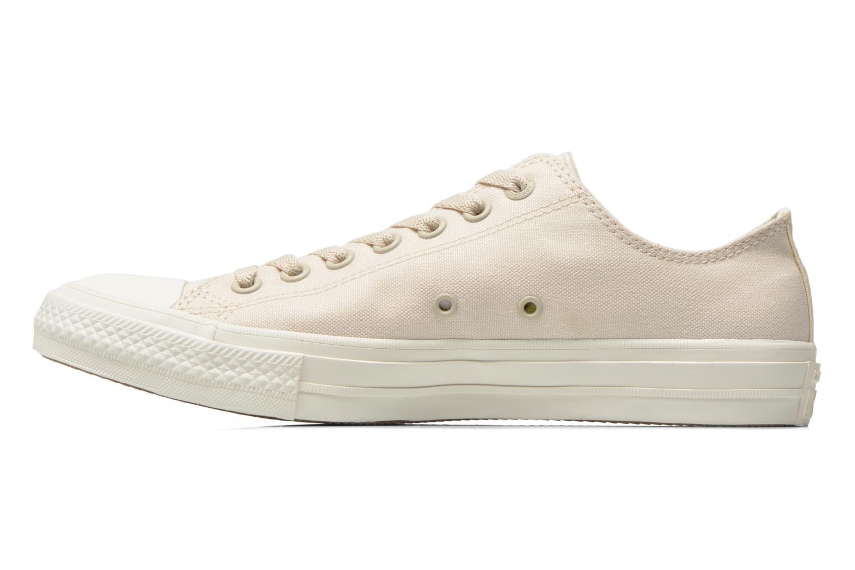 Sneakers Converse Chuck Taylor All Star II Ox M Beige bild från framsidan