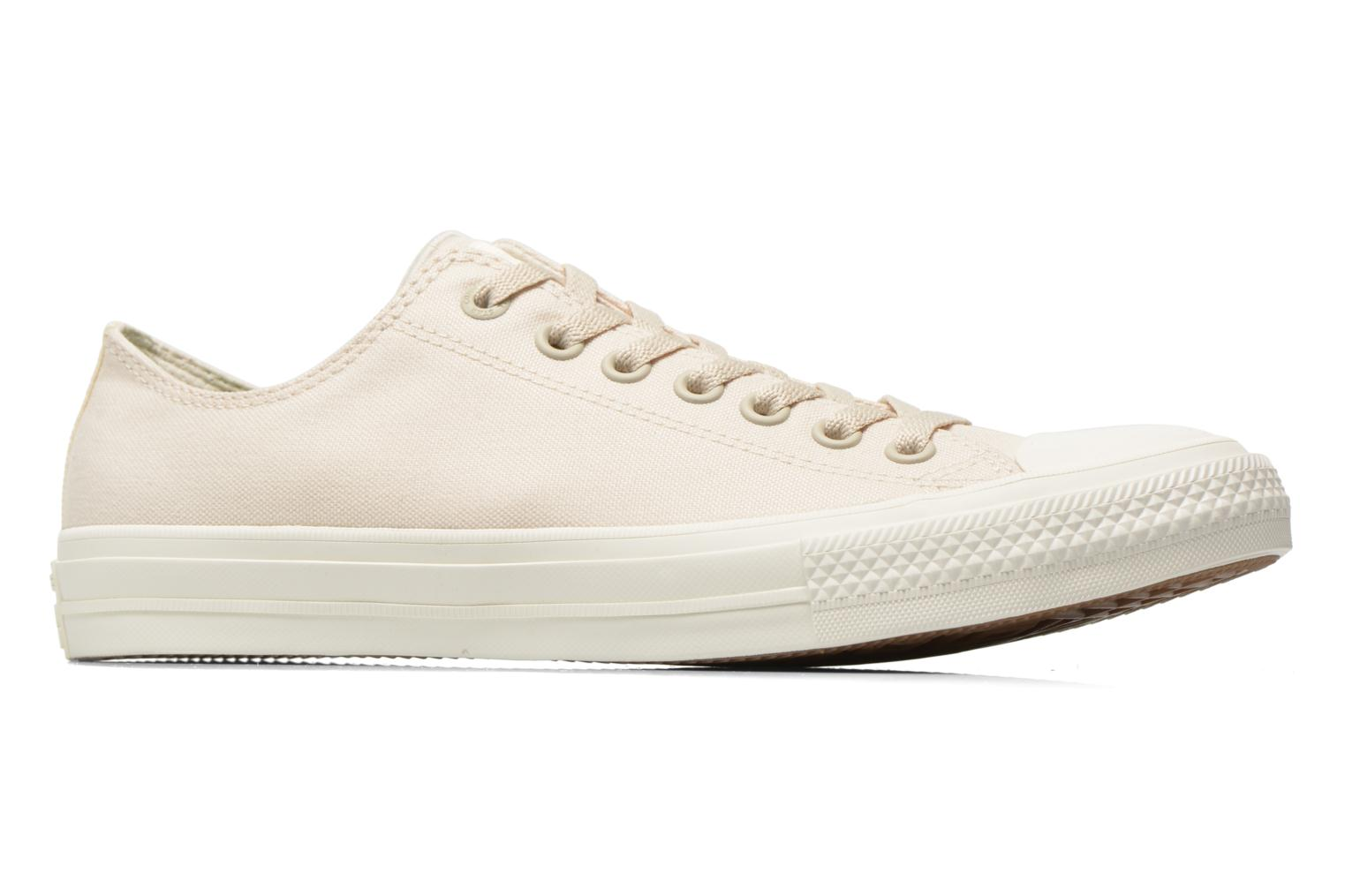 Trainers Converse Chuck Taylor All Star II Ox M Beige back view