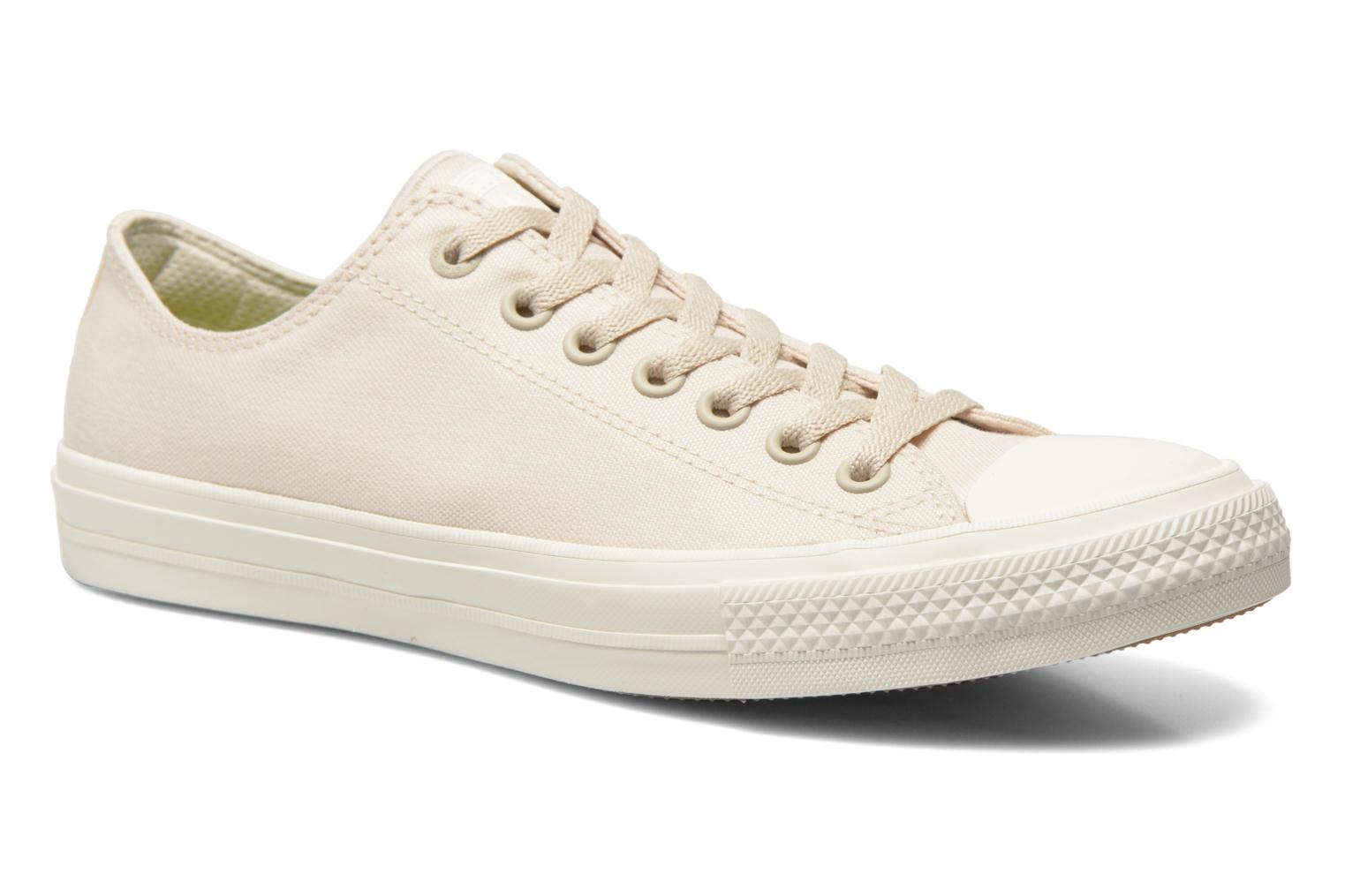 Trainers Converse Chuck Taylor All Star II Ox M Beige detailed view/ Pair view