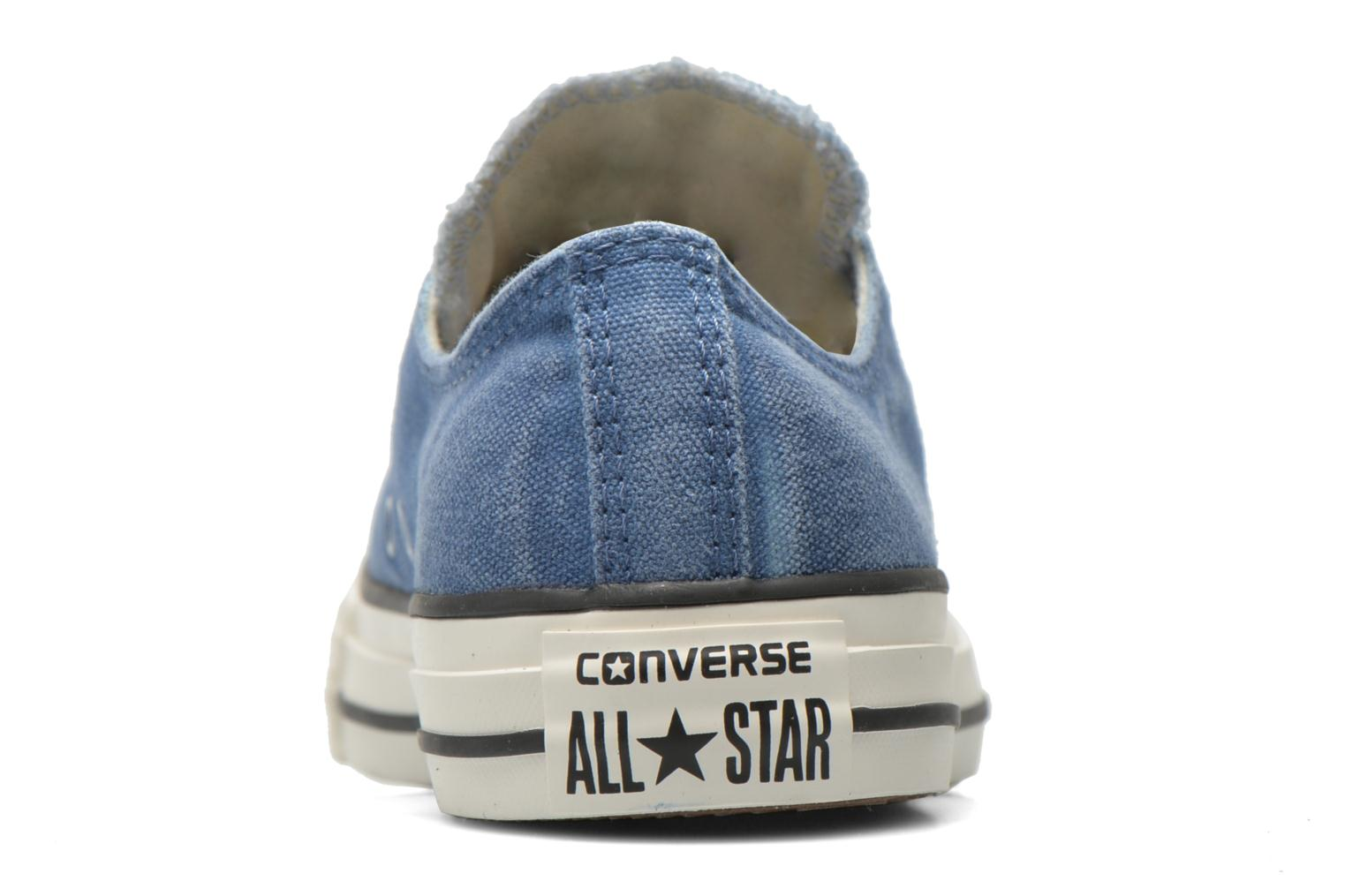 Trainers Converse Chuck Taylor All Star Ox Sunset Wash W Blue view from the right