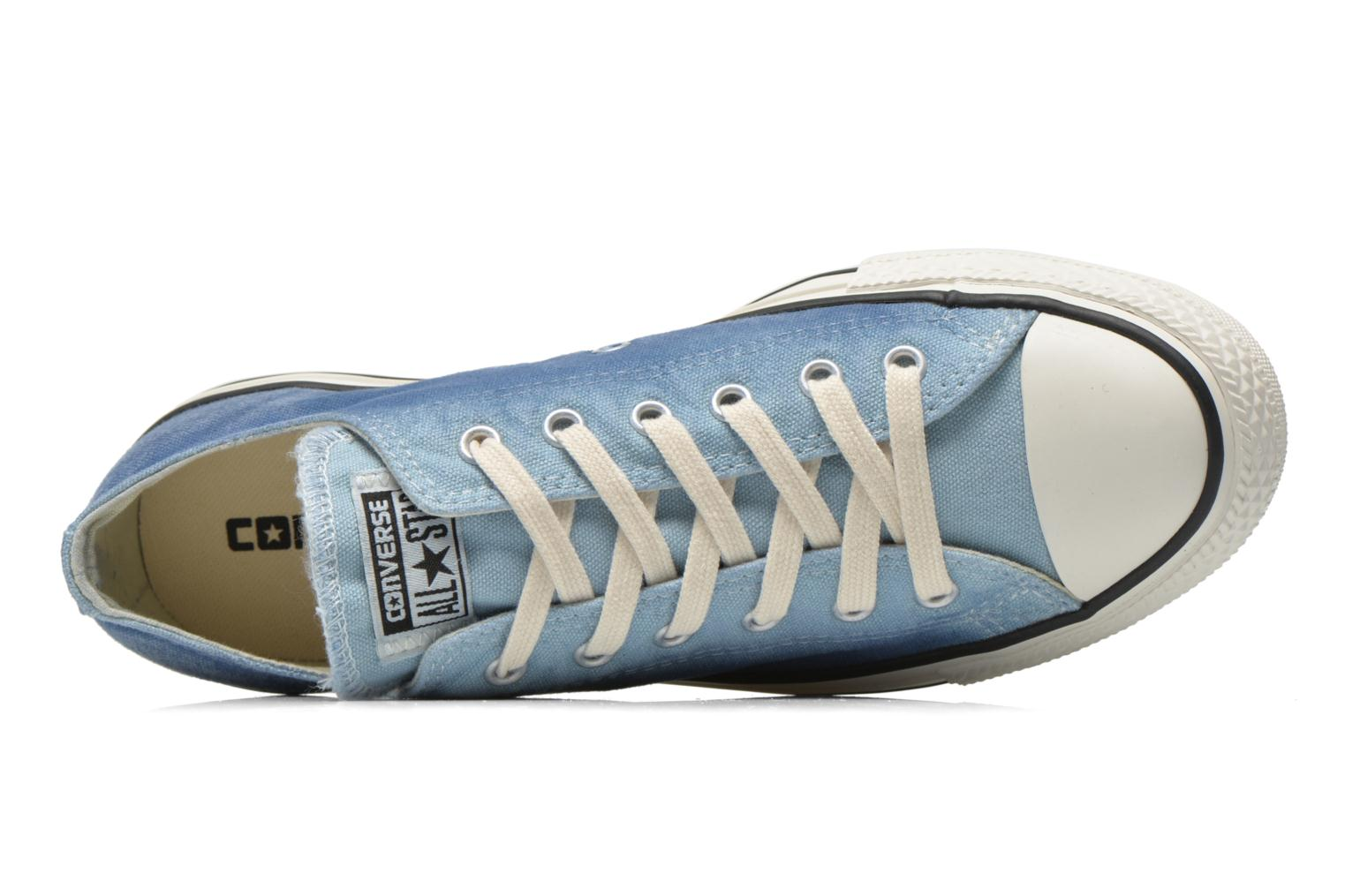 Trainers Converse Chuck Taylor All Star Ox Sunset Wash W Blue view from the left