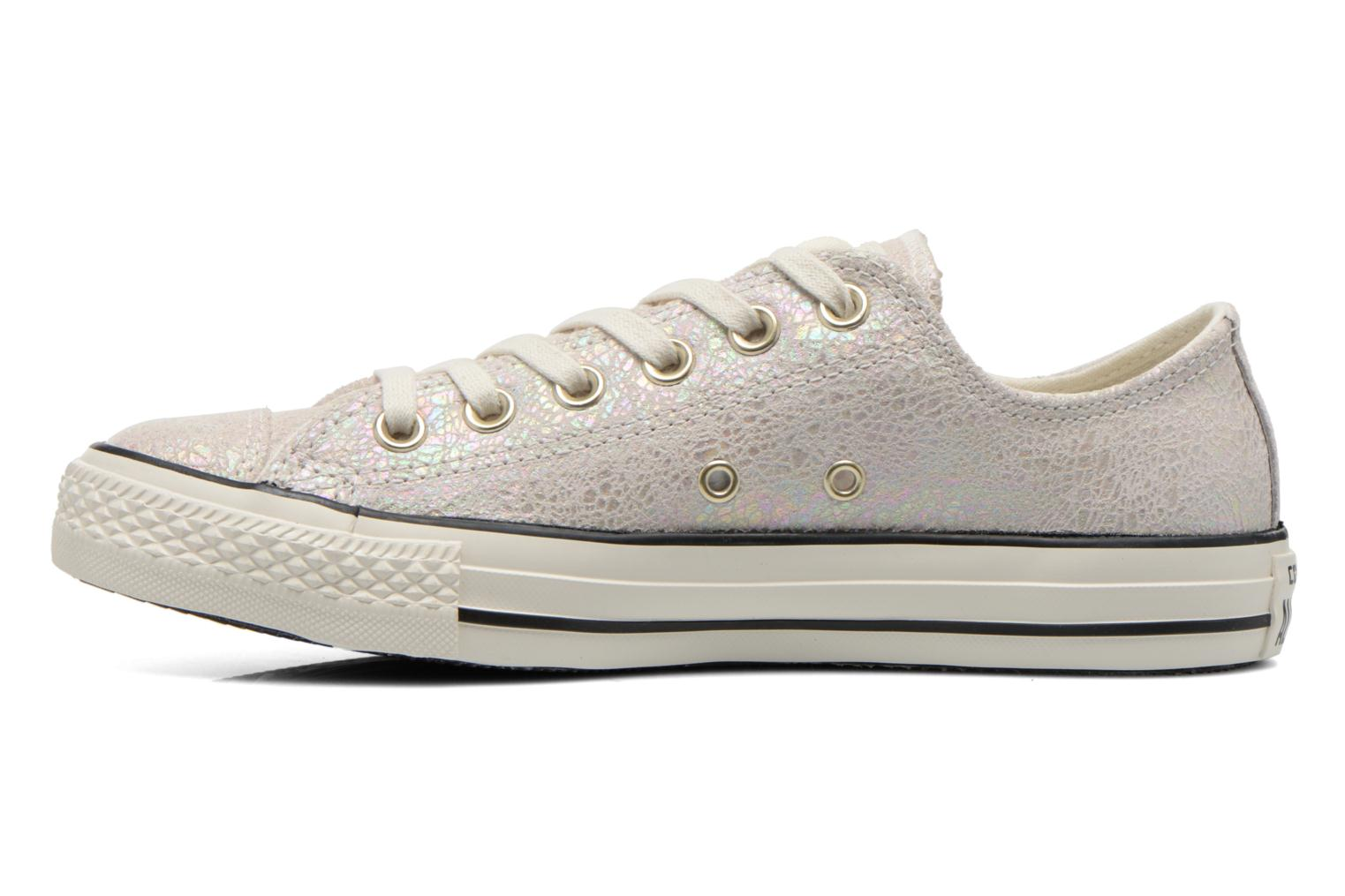 Baskets Converse Chuck Taylor All Star Ox Oil Slick Leather W Blanc vue face