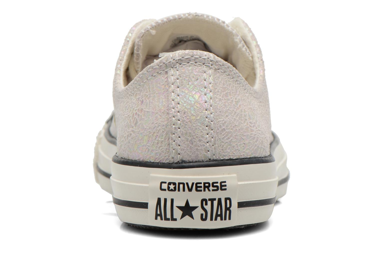 Chuck Taylor All Star Ox Oil Slick Leather W Egret/Black/Egret