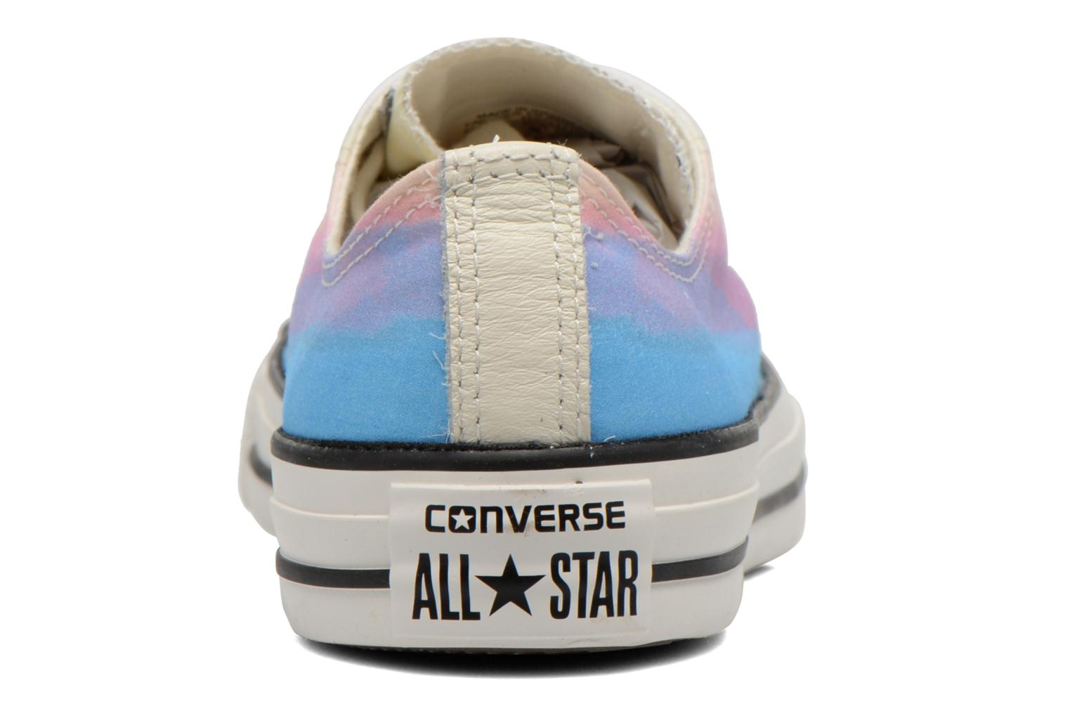 Trainers Converse Chuck Taylor All Star Ox Photo Real Sunset W Multicolor view from the right