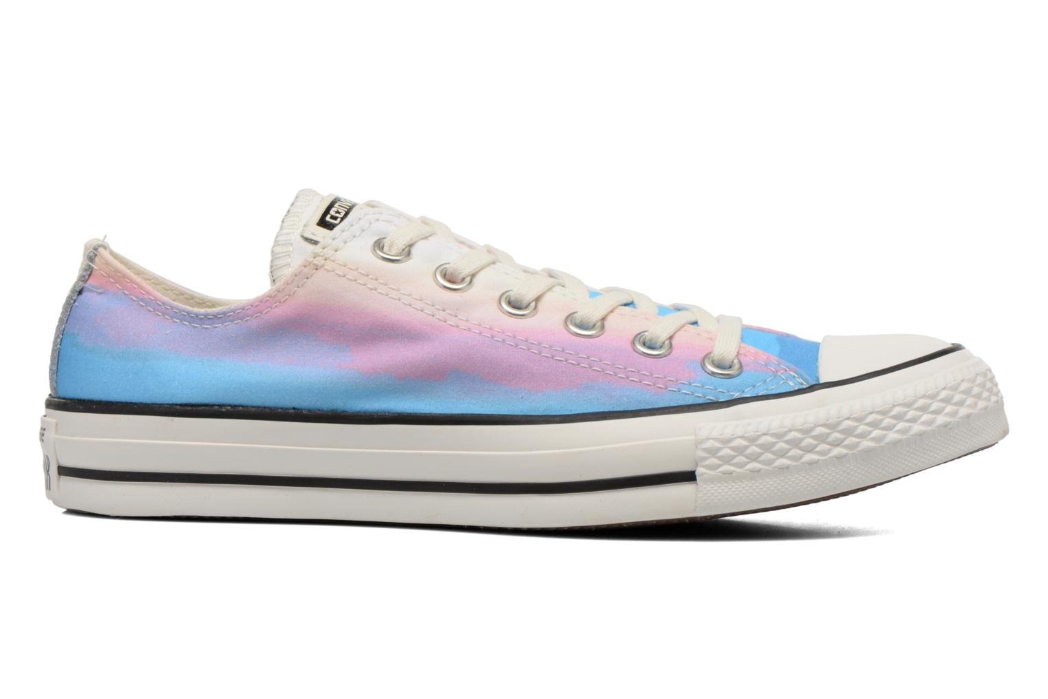 Trainers Converse Chuck Taylor All Star Ox Photo Real Sunset W Multicolor back view