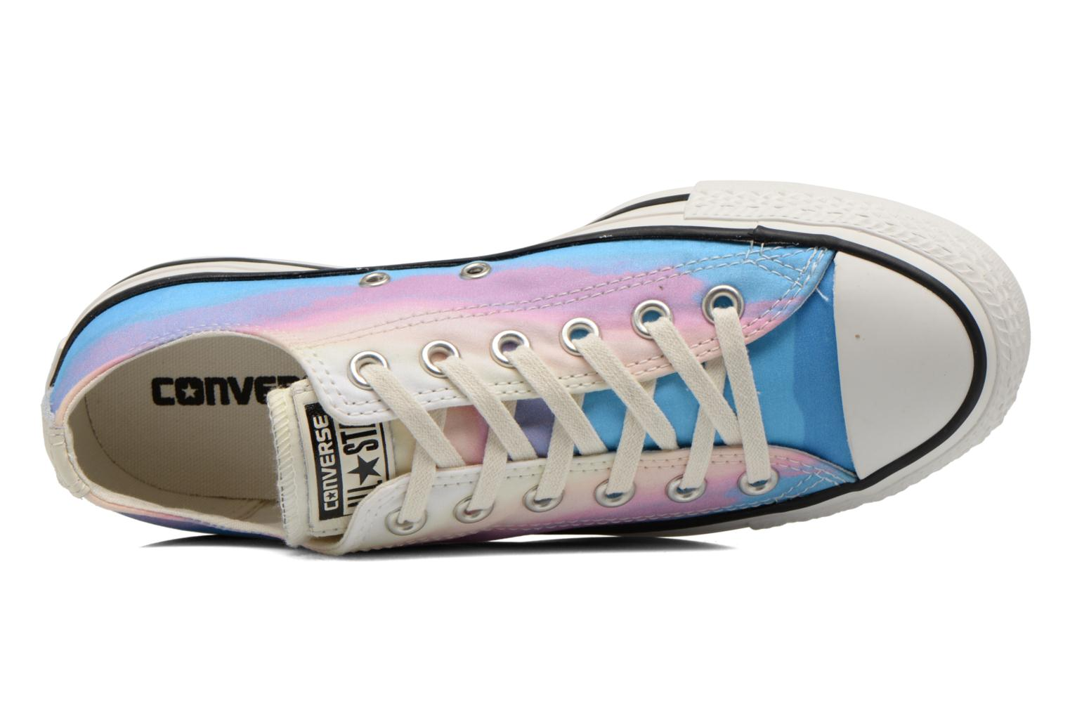 Trainers Converse Chuck Taylor All Star Ox Photo Real Sunset W Multicolor view from the left