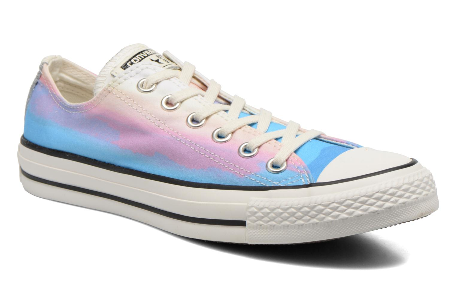 Trainers Converse Chuck Taylor All Star Ox Photo Real Sunset W Multicolor detailed view/ Pair view