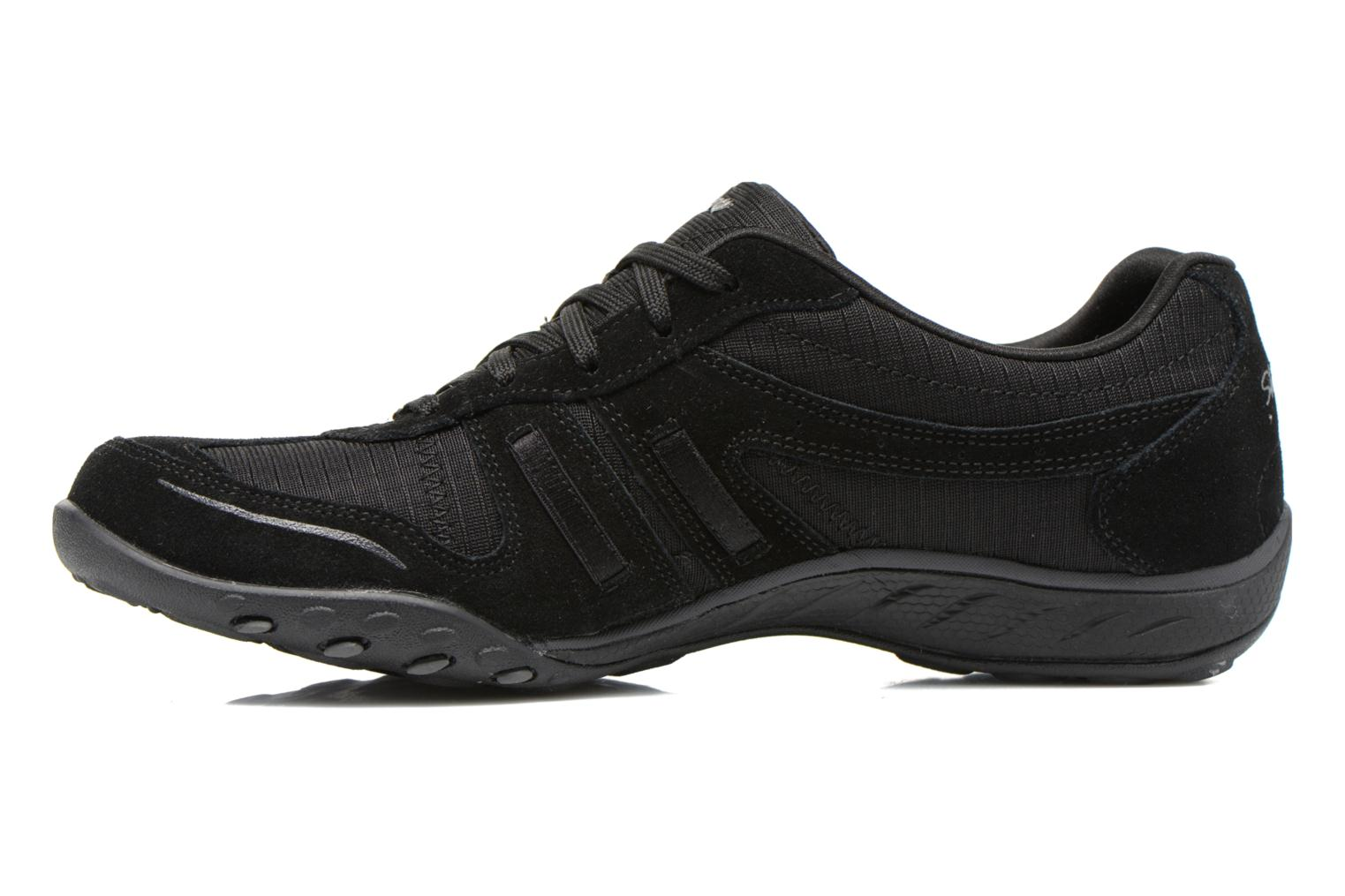 Baskets Skechers Breathe-Easy - Jackpot 22532 Noir vue face