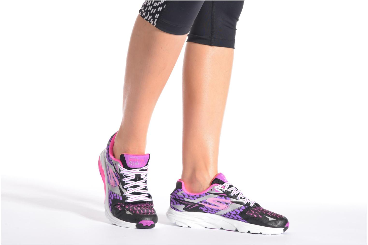 Sport shoes Skechers Go Run Ride 5 13997 Multicolor view from underneath / model view